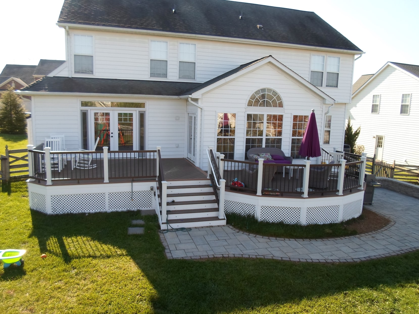 A Gallery of our Decks Patios and Porches